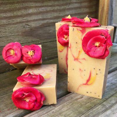 Wild Poppies Soap